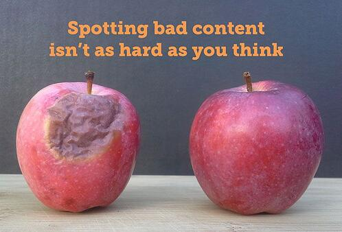 Spotting bad content isn't as hard as you think
