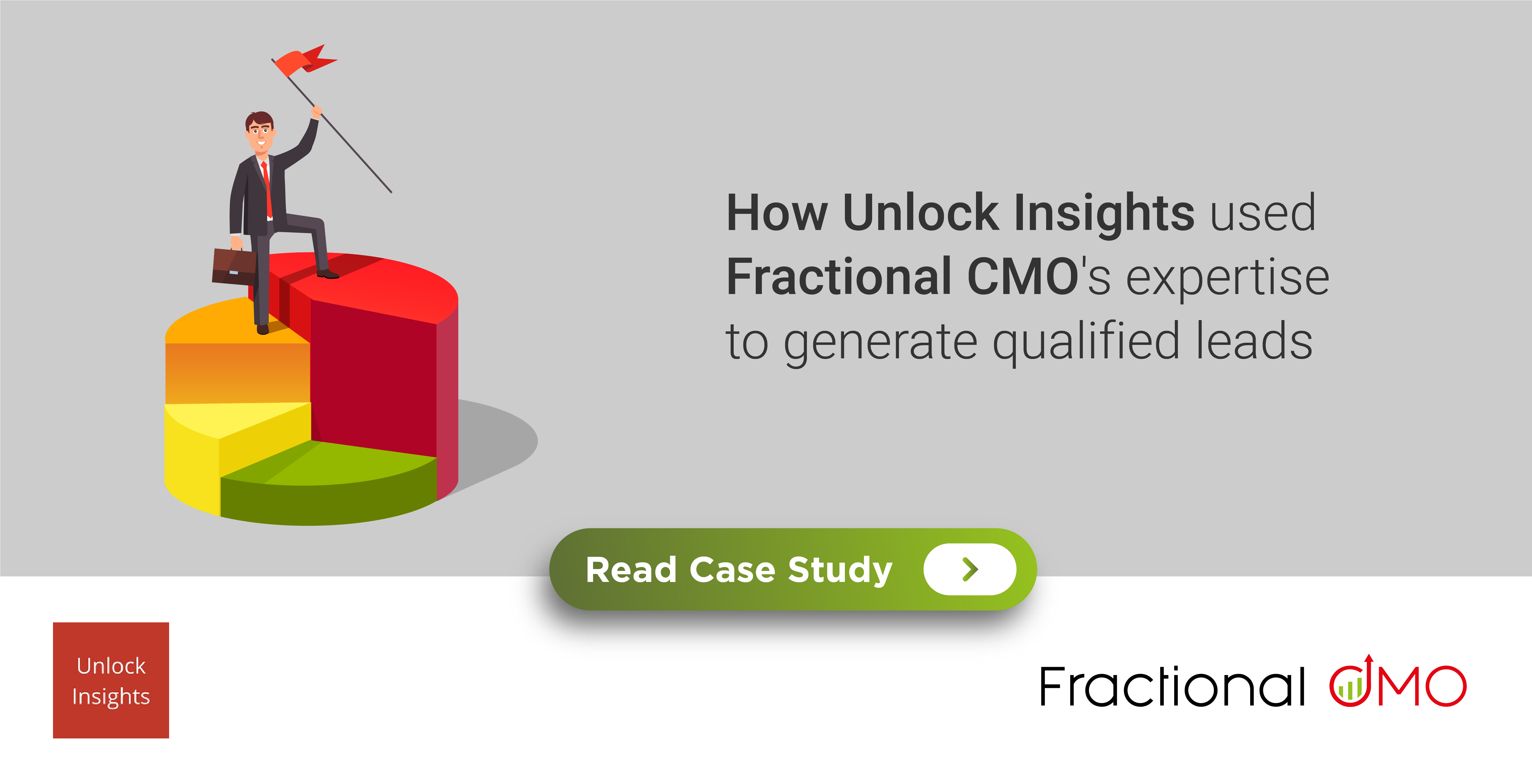 How Unlock Insights used Fractional CMO's expertise to generate qualified leads