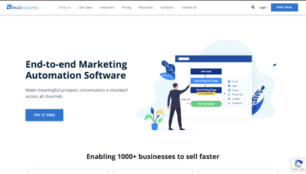 Leadsquared marketing automation tool