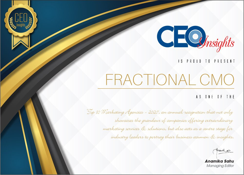 Top 10 Marketing Agencies in India Fractional CMO