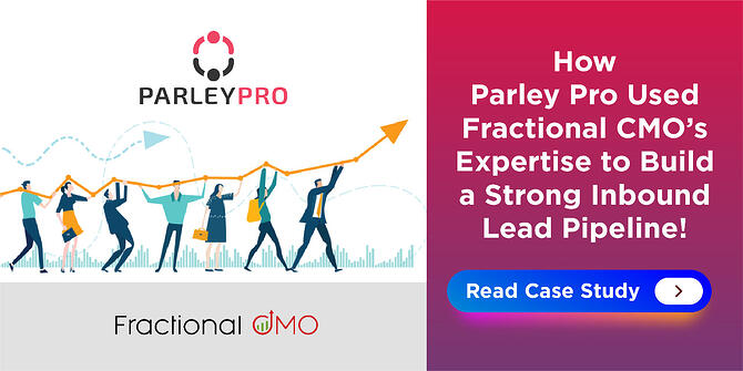 How Parley Pro Used Fractional CMO's Expertise to Build a Strong Inbound Lead Pipeline!